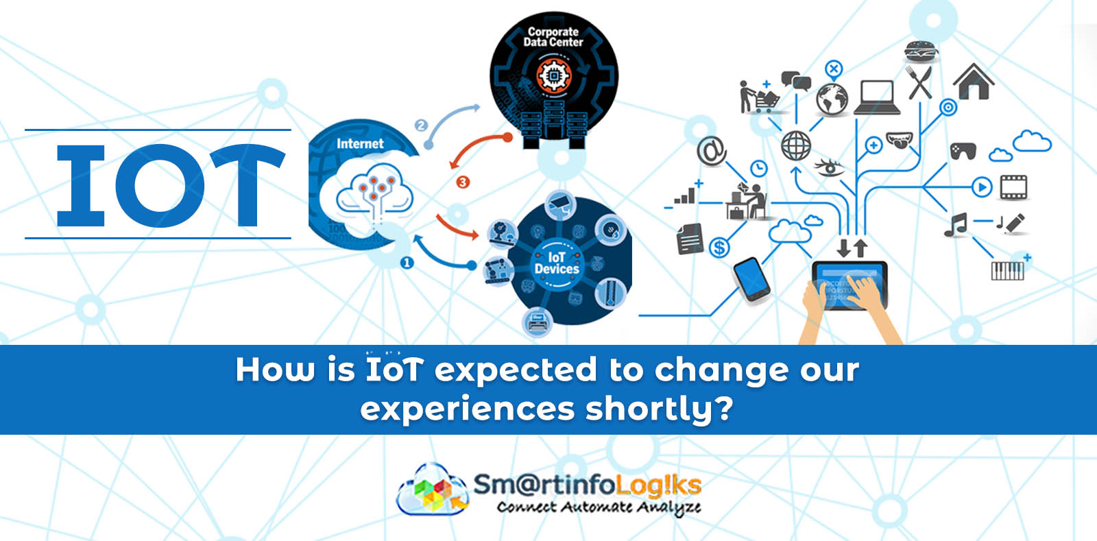 How is IoT expected to change our experiences shortly?